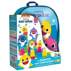 BABY SHARK LO ZAINETTO DELLE COSTRUZ