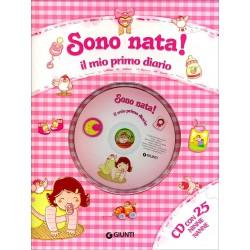 SONO NATA IL MIO DIARIO+CD ROSA