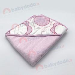 AB 4239 Accappatoio neonato rosa