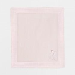 9861 Copertina con cornice rosa baby