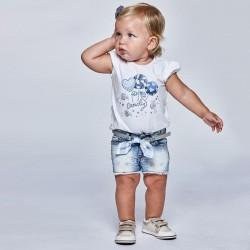 1225 Pantalone corto jeans
